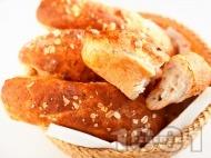 Багети с мед и овесени ядки